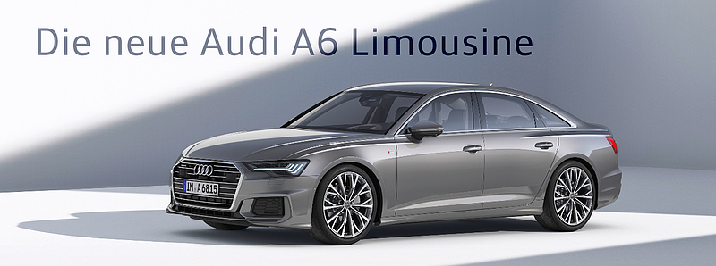 Upgrade in der Business-Klasse: die neue Audi A6 Limousine