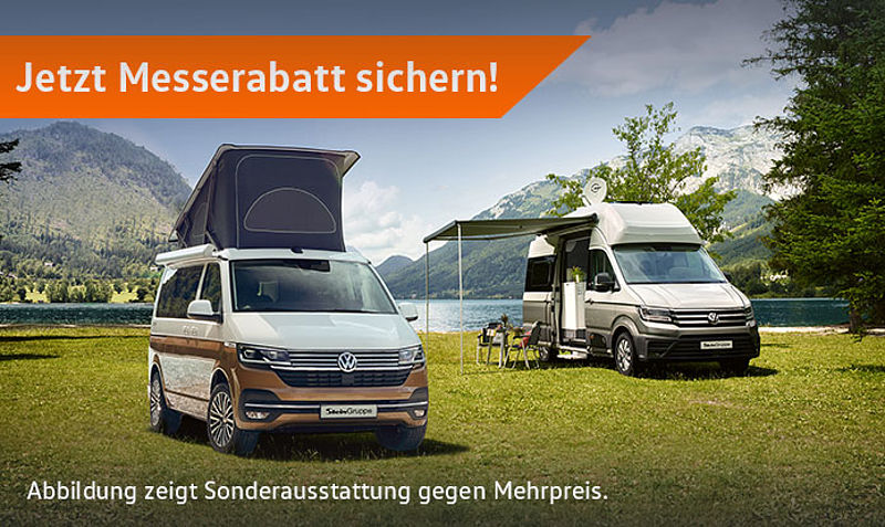 Der VW California & Grand California zu Messekonditionen